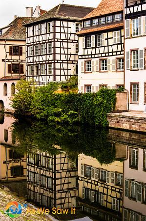Charming Strasbourg, France.