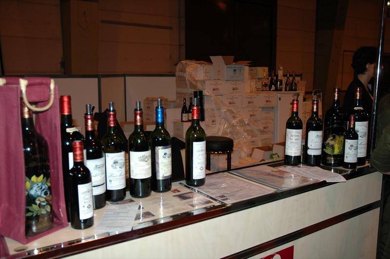 Wine Tasting Booth at Salon des Vins - Strasbourg, France