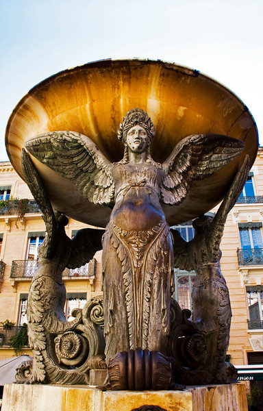 fontaine de la trinite, toulouse