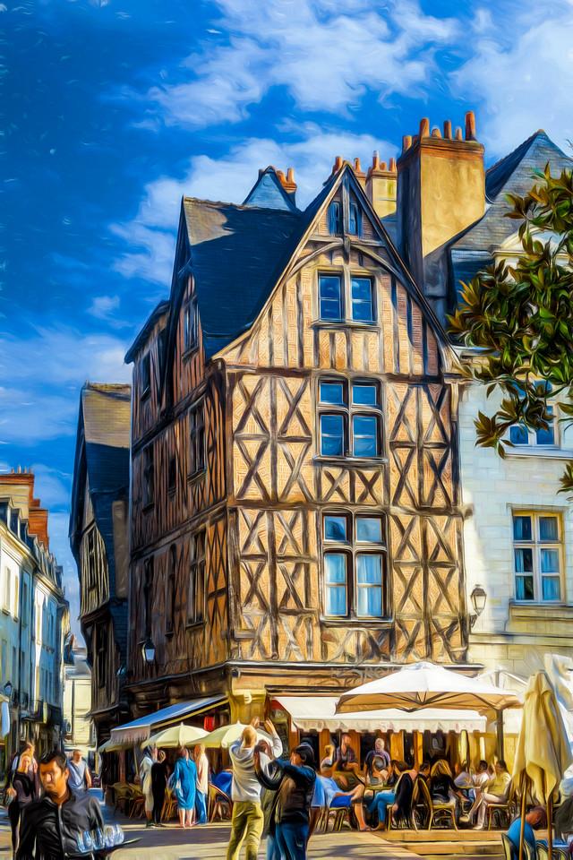 Famous Place Plumereau paintified!