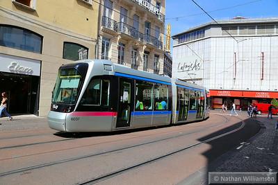 6037 passing Maison du Tourisme in Grenoble  07/06/14