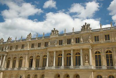 The Versailles Palace facade - Versailles, France