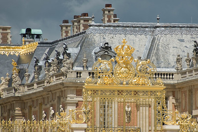Rooftop of Versailles Palace - Versailles, France