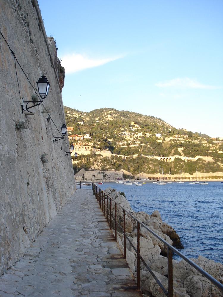 Citadel Wall - Villefranche-sur-Mer