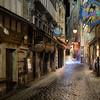 Main Street at Mont St Michel