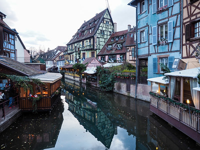 Little Venice in Colmar, France