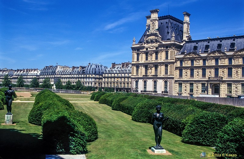 The Louvre (1541) - Gardens<br /> Paris, France