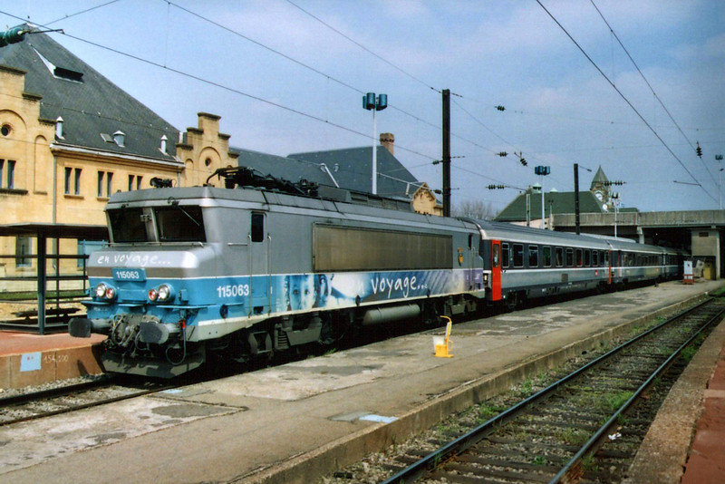 SNCF BB15063 at Metz.
