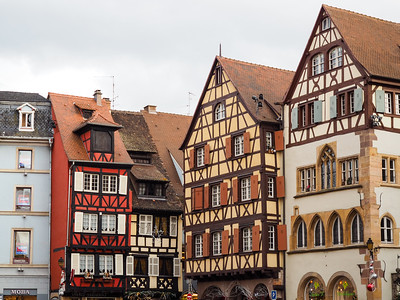 Houses in Colmar, France