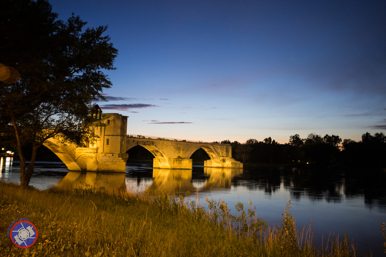 The Bridge in Avignon France at Dusk (©simon@myeclecticimages.com)