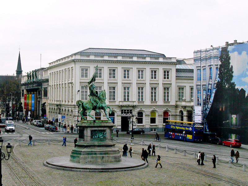 Place Royale (French) Konnigsplein (Flemish) - Brussels