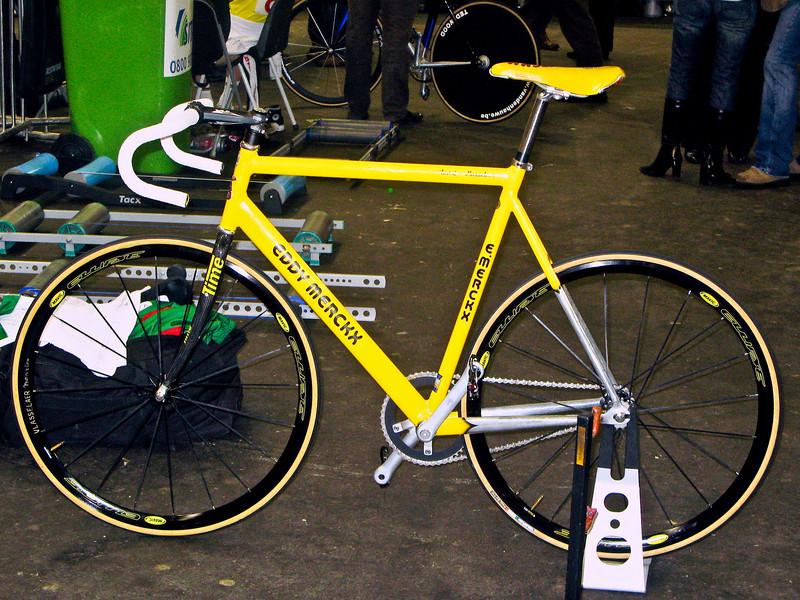 Eddy Merckx track bike.