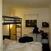My room at the Etap Hotel, Schipol Airport - Netherlands.