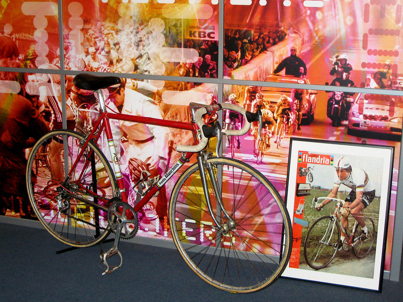 Freddy Maertens' Flandria road bike.
