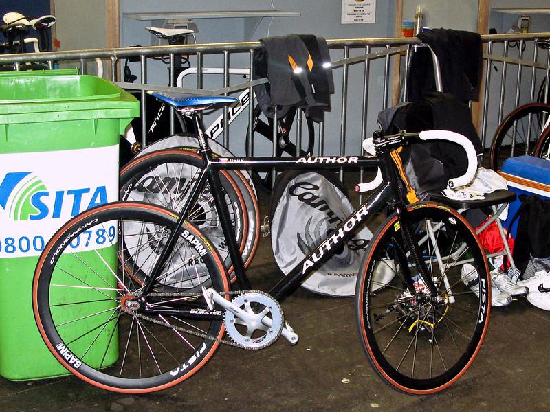 Jiri Beres (Czech Republic)  track bike.