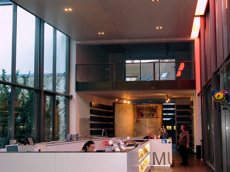 Kortrijk 1302 Museum vistors center.