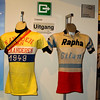 The 1949 winner of the Kampioenschap  van Vlaanderen was Emile Van Der Veken.  This may have been his jersey (L).
