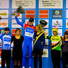 Asper-Gavere Super Prestige Cyclo-cross juniors award ceremony.
