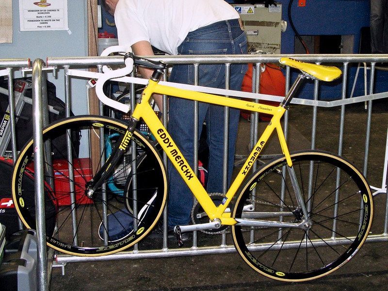 Martin Vlasselaar's Eddy Merckx bike.