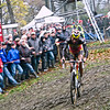 Asper-Gavere Cyclo-cross. Under-23 race.