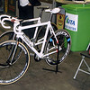 Parlee track bike of Jackie Simes.