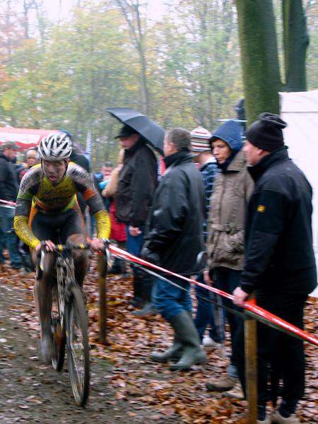 Asper-Gavere Cyclo-cross. Under-23 race.
