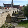 Regensburg - the bridge of whatever river flows through that town.
