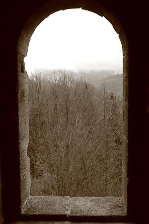 At Yburg ruins