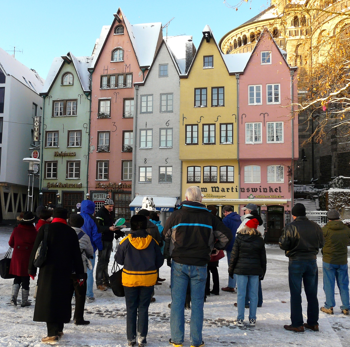 On a Cologne walking tour our guide shared information we wouldn't have learned in a guide book. Click through to discover more European travel tips.