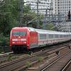 101 084 passes Tiergarten S-Bahn station on the Berlin Stadtbahn on the 9th September 2011.