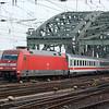 101 113 crosses the Rhine and into Köln Hauptbahnhof.