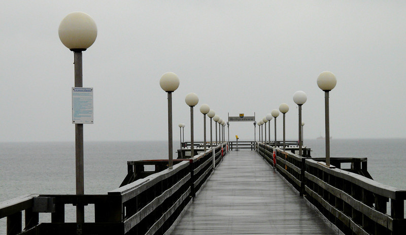 Pier at the Grand Hotel Heiligendamm, Germany