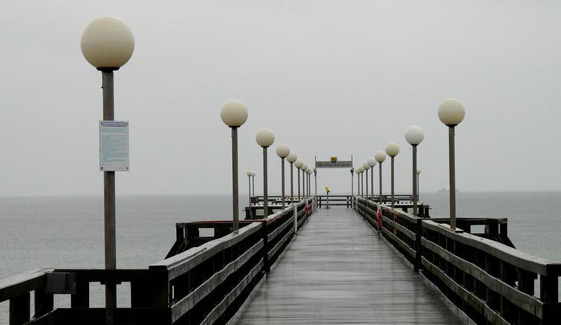 Pier at the Grand Hotel Heiligendamm, Germany