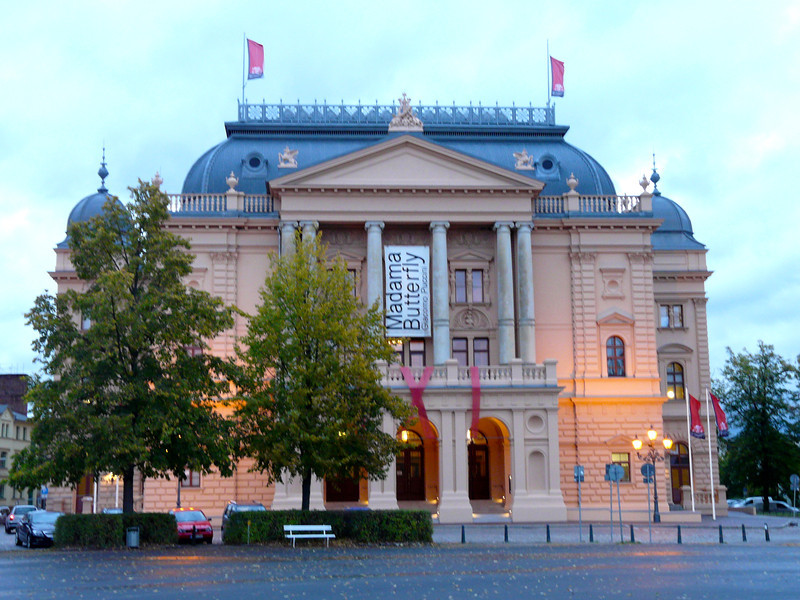 Opera house in Schwerin, Germany