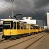 A Berlin Tram at Alexanderplatz.