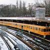 Berlin U-Bahn class A3L at Olympia-Stadion.