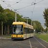 Dresden NGT6DD tram 2505 on Strasburger Platz.