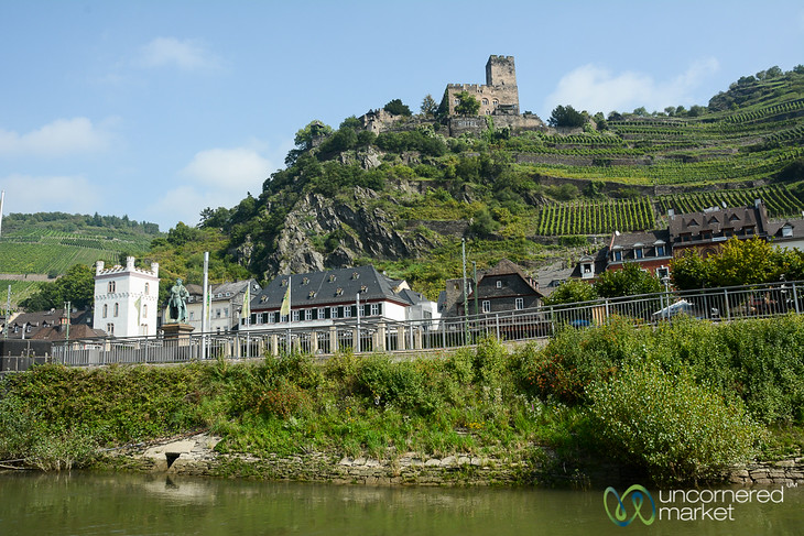 Kaub, a Little Town Along the Rhine Valley - Germany