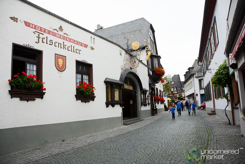 Rüdesheim Main Street - Rhine Valley, Germany
