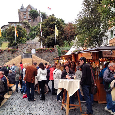 Bingen Wine Festival - Rhine Valley, Germany