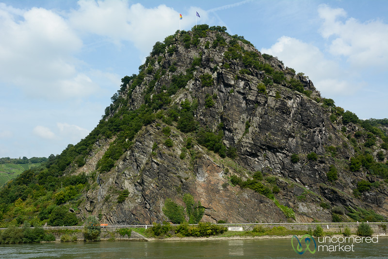 Loreley (Lorelei) Rock - Rhine Valley, Germany