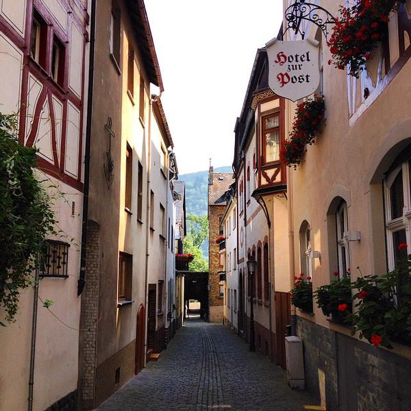 Bacharach Back Streets - Rhine Valley, Germany