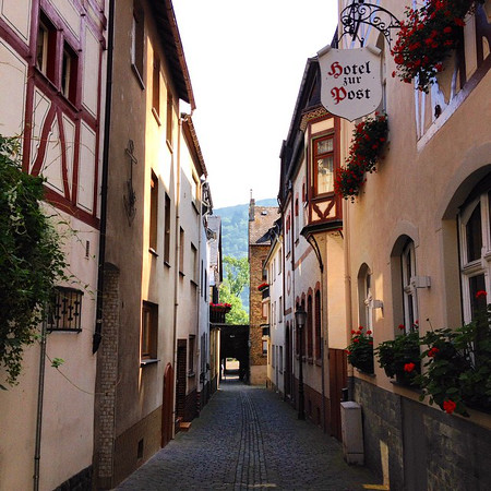 Bacharach Back Streets - Rhine Valley, Germany