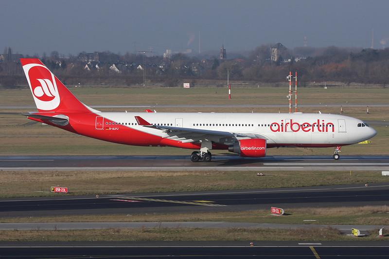 D-ALPJ Airbus A330-223 c/n 911 Dusseldorf/EDDL/DUS 30-01-09