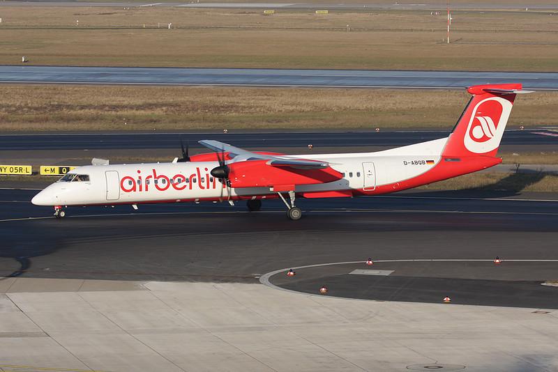 D-ABQB  de Havilland Canada DHC-8Q-402 c/n 4226 Dusseldorf/EDDL/DUS 30-01-09