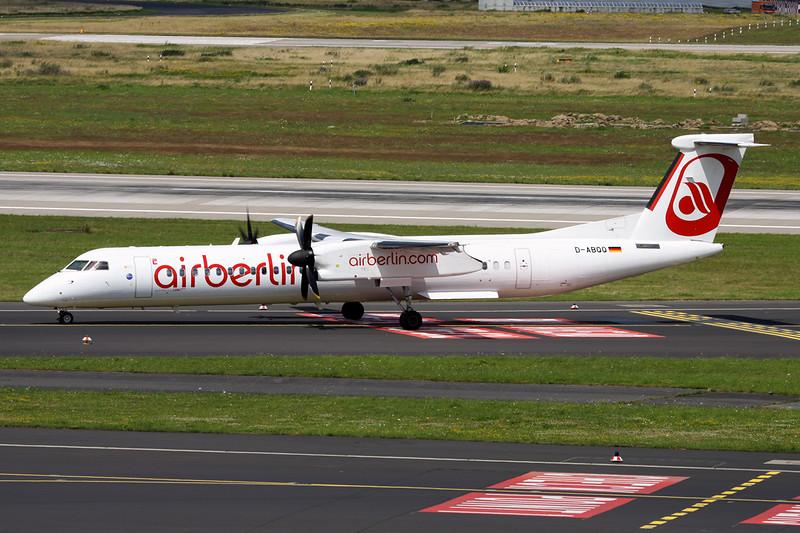 """D-ABQQ de Havilland DHC-8-Q402 """"LGW"""" c/n 4198 Dusseldorf/EDDL/DUS 11-07-16"""