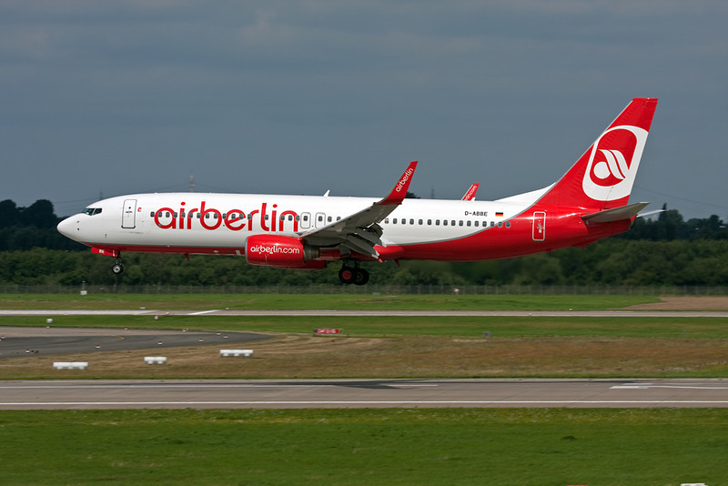 D-ABBE Boeing 737-86J c/n 30881 Dusseldorf/EDDL/DUS 03-08-08