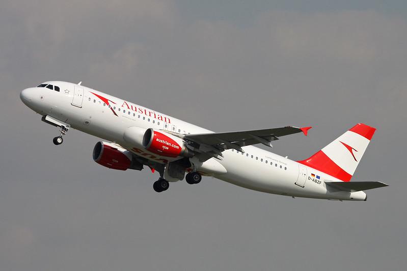 """D-ABZF Airbus A320-216 c/n 3482 Dusseldorf/EDDL/DUS 20-04-17 """"Austrian Airlines"""""""