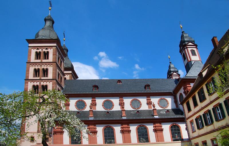 Amorbach Germany, Abbey