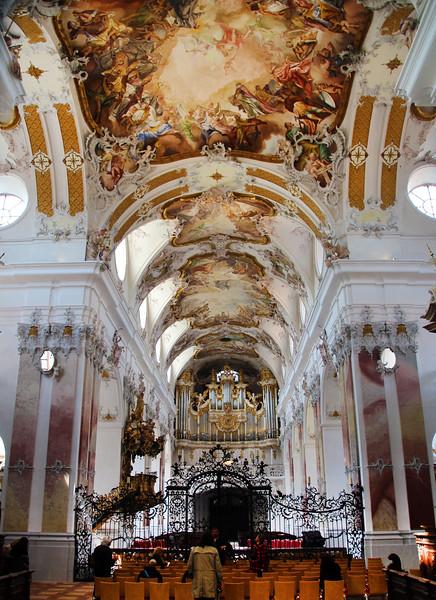 Amorbach Germany, Abbey Church